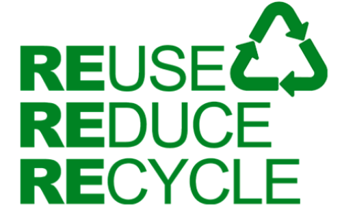 Logo reuse reduce recycle