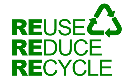 Pami, reduire l'empreinte, reuse, reduce, recycle